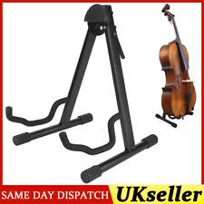 More details for adjustable foldable cello stand metal holder leg bipod musical instrument part