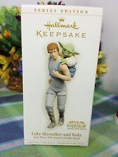 Hallmark Star Wars Luke Skywalker and Yoda ornament 2006