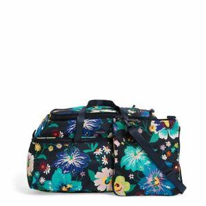 Vera Bradley Lighten Up Firefly Garden Convertible Travel Bag