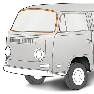 1968-1979 Volkswagen Bay Window Bus American Style Windshield Seal 321132