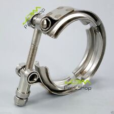 """New 3.0 """" Inch Turbo Exhaust Down Pipe Stainless #304 V-Band V band Vband Clamp"""