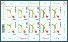 MONACO - Feuille N° 2666 - Feuille de 10 Timbres Neufs // 2009 - BOUQUETS FLEURS