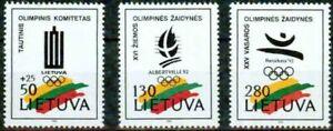 LITHUNIA  – 1992   – BARCELONA OLYMP.  – VF  **