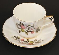 Society Fine Bone China England Plum Duo Tea Cup and Saucer
