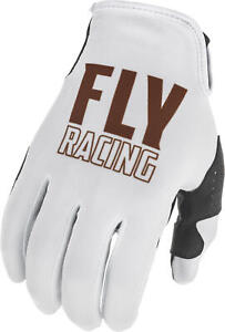 2021 Fly Racing Copper LE Lite Gloves Adult White Motocross Offroad MX MTB ATV