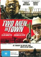 TWO MEN IN TOWN - FOREST WHITAKER - NEW & SEALED REGION 4 DVD - FREE LOCAL POST