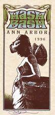 MINT & SIGNED 25th Annual Hash Bash 1996 Ann Arbor Arminski Handbill