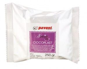 Modellier Schokolade 250 gramm lila