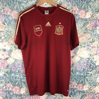 Adidas Climacool Mens LG Red Team Spain 2010 Campeones Soccer Graphic Jersey