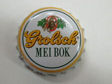 Beer Bottle Cap: Grolsch Bierbrouwerij Mei Bok ~ Holland Breweriana ~ Since 1615