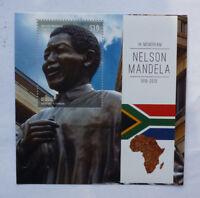 2013 St VINCENT & GRENADINES NELSON MANDELA MEMORIUM BEQUIA STAMP MINI SHEET