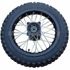"14"" Rear Wheel Rim Tire Assembly for 110cc-200cc Dirt Pit Bikes"