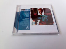 "MEL TORME ""SWINGS SHUBERT ALLEY"" CD 12 TRACKS COMO NUEVO"