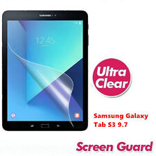 Ultra Clear Platic Screen Protector For Samsung Galaxy Tab S3 9.7