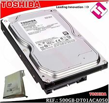 DISCO DURO TOSHIBA 500GB 3.5 SERIAL ATA 3 INTERNO 7200 RPM DT01ACA050 500 GB