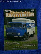 Historischer Kraftverkehr 2/09 Mercedes Benz LP 333
