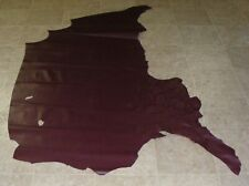 New listing (Qwe9941-5) Hide of Red Purple Cow Leather Hide Skin