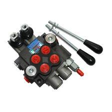 Hydraulic Directional Control Valve 2 Spool Monoblock P40 3600PSI 11GPM PTN AB