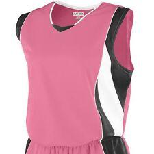 Augusta Sportswear Girls Extreme Sports Polyester V Neck Sleeveless T-Shirt. 516