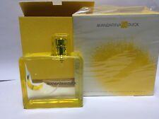 Mandarina Duck Eau de Toilette 100 ml Women Yellow New 100% Genuine Nib