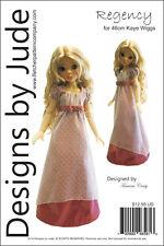 Regency Dress Pattern for 46cm Kaye Wiggs MSD BJD Dolls