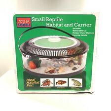 Small Reptile Habitat And Portable Carrier Hermit Crabs Frogs Lizards New
