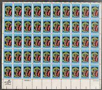 USA Briefmarken Bogen 50x 20 Cent 1983 Credit Union #30691-S