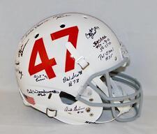 1953-57 Oklahoma Sooners Autographed Full Size Helmet- JSA Witnessed Auth