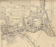 Winsted CT 1874 Maps with Businesses and Homeowners Names Shown
