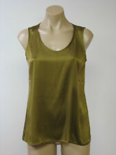 EILEEN FISHER Silk Stretch Sleeveless Charmeuse Blouse Top S Small NWT $168
