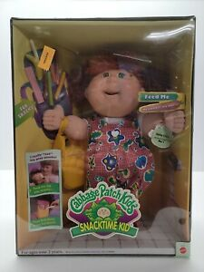 """🥬Cabbage Patch kids Snack time Kid doll HTF """" NO LONGER AVAILABLE""""🥬"""