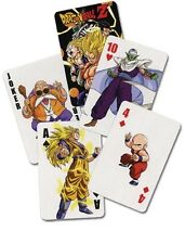 Dragon Ball Z Anime Goku Playing Cards Officially Licensed 52-Card Deck New Dbz