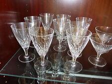 Cherry Glas Likörglas Süßweinglas handgeschliffen Weinglas Bleikristall Kristall