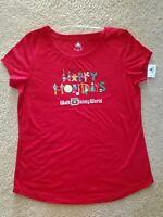 2020 Walt Disney World Parks Mickey Mouse Logo Christmas Happy Holidays Shirt