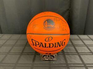 2018 NBA Golden State Warriors Team Balll hand signed (ES36)