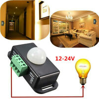 1PC Automatic Infrared PIR Motion Sensor Switch for LED Light Lamp DC12V-24V 8A