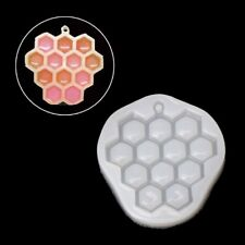 Bee Honeycomb Liquid Silicone Mould Mold DIY Resin Grape Jewelry Making Pendant