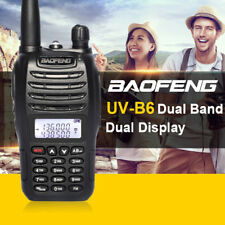 Baofeng UV-B6  Walkie Talkie VHF/UHF Dual Band Protable Two Way  Radio Handheld