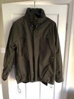 Carhartt 3 in 1 Coat Khaki Green XL Waterproof Jacket Warm Fleece Winter
