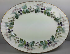 ROYAL WORCESTER LAVINIA (CREMA Ground) OVAL Serving piatto carne / PIASTRA 34,5 cm