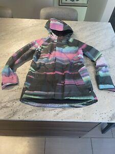 burton gore tex jacket womens size medium