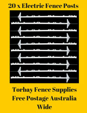 20 x Electric Fence Posts