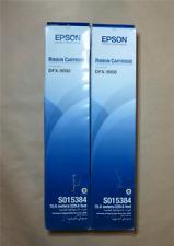 [0949*] 2X EPSON DFX-9000 BLACK RIBBON CARTRIDGE ( RRP>$130)