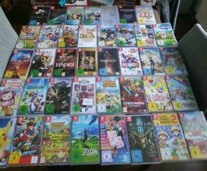 Nintendo Switch Spiele Sammlung