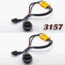 3157 4157 Load Resistor Hyper Flash Canceller LED Brake Light W1 For Buick JA
