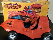 MEGO Spider-Car WITH ORIGINAL Box and Spider Man 8 Inch figure Vintage Marvel