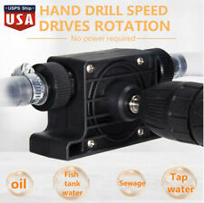 Portable Electric Drill Pump Self Priming Transfer Pump Oil Fluid Water US