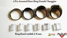 Ring Guards/ Snuggies Adjusters- Snug Fit - Pack of-6 Assorted Sizes. USA