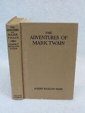 Albert Bigelow Paine ADVENTURES OF MARK TWAIN Grosset & Dunlap circa 1940s