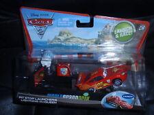 Disney Cars 2 Pit Stop Launcher Lightning McQueen
